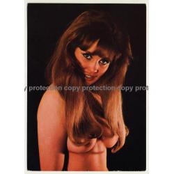 Nude Showgirl Margit / Night-Cabaret B. B. Bar - Kurfürstendamm (Vintage PC Berlin 1960s)