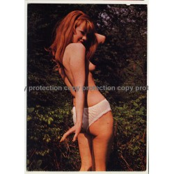 Nude Showgirl Astrid / Night-Cabaret B. B. Bar - Kurfürstendamm (Vintage PC Berlin 1960s)