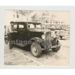 Citroen Traction Avant / U23 / 7A / 11A ??? (Vintage Photo 1967)
