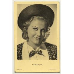 Schauspielerin / Actress: Marika Rökk *2 / UFA (Vintage RPPC ~ 1940s)