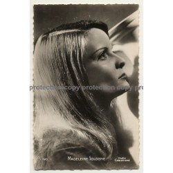 Actrice / Actress: Madeleine Sologne / Editions PI (Vintage RPPC ~ 1950s)