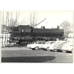 Lingen / Germany: Denkmallok 082 008-4 / Plinthed (Vintage Photo B/W 1970s)