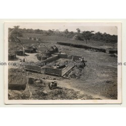 Congo-Belge: Farm In Elisabethville *3 / Construction (Vintage Photo ~1930s)