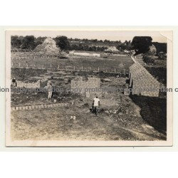 Congo-Belge: Farm In Elisabethville *4 / Construction (Vintage Photo ~1930s)