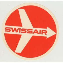 Swiss Air / Airlines (Vintage Luggage Label)