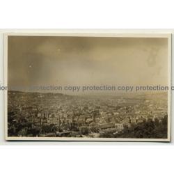 Stuttgart / Germany: Blick Vom Hasenberg / Panorama (Vintage Photo B/W 1931)