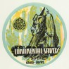 Continental - Savoy - Cairo / Egypt (Vintage Luggage Label)
