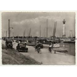 Ouistreham - France: Les Bassins Et Le Phare / Yachts (Vintage RPPC 1941)