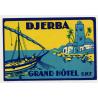 Grand Hotel S.H.T. - Djerba / Tunis - Tunisia - Tunisie (Vintage Luggage Label)
