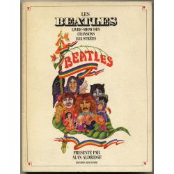 Les Beatles: Chanson Illustrées / Alain Aldridge - Editions Rencontre (Vintage Book 1969)