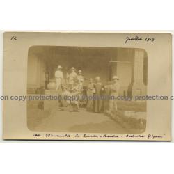 Congo - Belge: Orchestre Tzigane / Sinti Orchestra (Vintage Photo Sepia 1913)