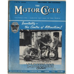 The Motor Cycle / 17 May 1956 (Vintage UK Bike Magazin)