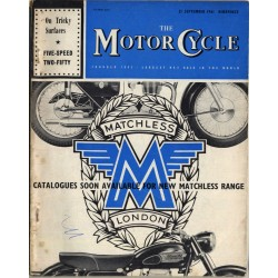 The Motor Cycle / 21 September 1961 (Vintage UK Bike Magazine)