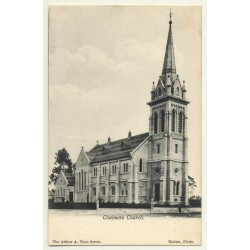 Timaru / New Zealand: Chalmers Church *2 (Vintage Postcard B/W)