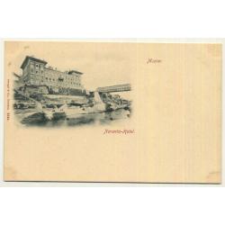 Mostar / Bosnia And Herzegovina: Narenta Hotel (Vintage Postcard Stengel & Co)