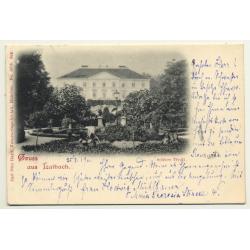 Spalato - Split / Croatia: Palazzo Communale (Vintage Postcard Stengel & Co Dresden)