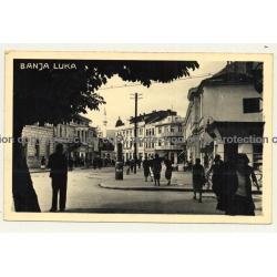 Banja Luka / Bosnia And Herzegovina: Street View / Palace Ton Kino (Vintage RPPC)