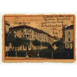 Zagreb / Croatia: Trg. Dr. Ante Starcevica (Vintage Postcard 1919)