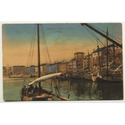 Spalato - Split / Croatia: Il Porto (Vintage Postcard 1907 To Peking / China)