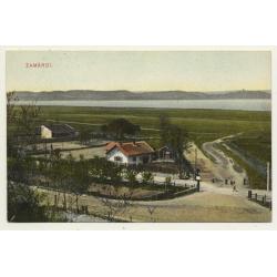 Tenke - Tinca / Hungary: Üdvözlet Tenkéröl (Vintage Postcard 1904)