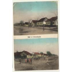 Kál / Hungary: Street View (Vintage Postcard 1915?)