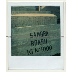 Photo Art: Brasilian Slate (Vintage Polaroid 1980s)