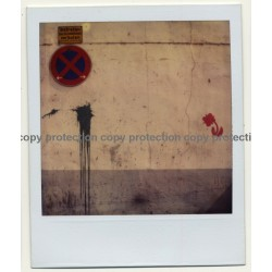 Photo Art: No Parking! (Vintage Polaroid 1980s)