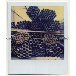 Photo Art: Water Pipes / Tubes (Vintage Polaroid SX-70 1980s)