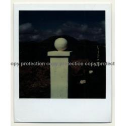 Photo Art: Post To Nowhere (Vintage Polaroid SX-70 1980s)