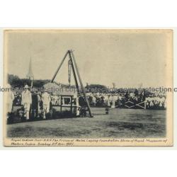 Bombay India: Prince Of Wales Visit / Royal Indian Tour 1905 (Vintage Postcard)