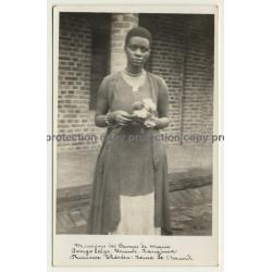 Urundi-Kanignia / Congo Belge: Princesse Theresa - Missions Des Dames De Marie (Vintage RPPC)