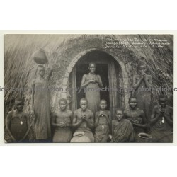 Urundi-Kanginia / Congo Belge: Groupe De Postulantes Indigènes (Vintage RPPC)