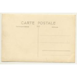 France? Belgium?: Café Billard Bourrellerie (Vintage RPPC)