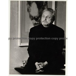 Alexander Gonda *1 / Sculptor - Graphic Artist (Vintage Photo: Wolfgang Klein ~ 1960s)