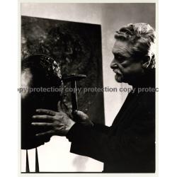 Alexander Gonda *2 / Sculptor - Graphic Artist (Vintage Photo: Wolfgang Klein ~ 1960s)