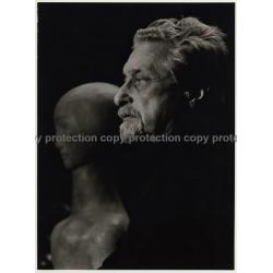 Alexander Gonda *4 / Sculptor - Graphic Artist (Vintage Photo: Wolfgang Klein ~ 1960s)