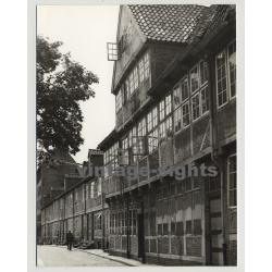 Hamburg Speicherstadt & Valentinskamp / Beetle Cabrio - SL Cabrio (Vintage Photo)