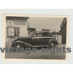 Side View Of Mercedes 170 S (W136) (VIntage Photo 1950s)