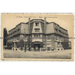 Uccle / Ukkle: Institut Edith Cavell - Architecture (Vintage Postcard Belgium)