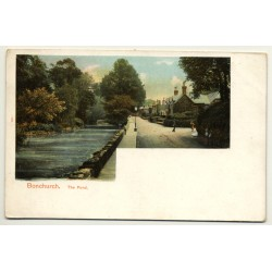 United Kingdom: Bonchurch, The Pond (Vintage Postcard ~1900s)