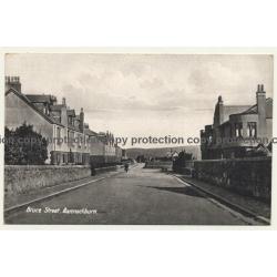 Scotland / UK: Bruce Street, Bannockburn (Vintage Postcard)