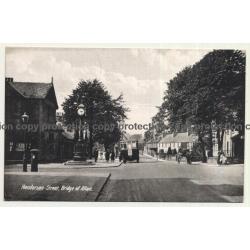 Scotland / UK: Henderson Street, Bridge Of Allan (Vintage Postcard)