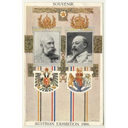 London / UK: Souvenir - Austrian Exhibition 1906 (Vintage Postcard)