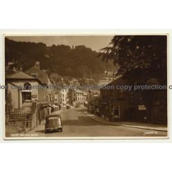 Matlock Bath / UK: Street Scene - Derwent Garden's Café (Vintage RPPC)