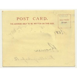 Sandle Brothers / UK: A Greeting From London *2 (Vintage Court Size Postcard ~1900)