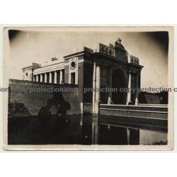 Ypres / Ypern: La Porte De Menin / Menenpoort (Vintage Photo ~1930s/1940s)
