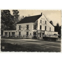Neupont Sur Lesse: Hotel Du Ry Des Glands (Vintage Photo Nels Belgium)