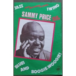 Sammy Price Blues & Boogie Woogie (Vintage Poster)