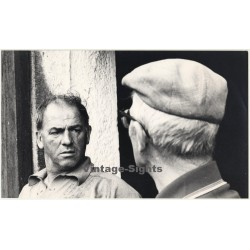 Photo Art / Lydia Nash (Bruxelles): Portrait Of 2 Men (Vintage Photo 1980s/1990s)