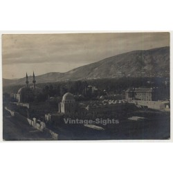 Lebanon: View On Large Mosque (Vintage RPPC Gelatin Silver ~1910s/1920w)